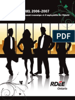 RDÉE Ontario - Rapport annuel 2006-2007