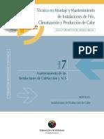 Unidad 7. Mantenimiento Inst. ACS y Gas PDF