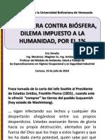 Tecnosfera Contra Biosferajulio2018