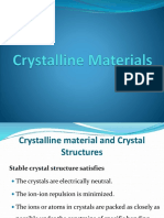 Ch-27.2 Crystalline Materials & Detects in Crystalline Materials