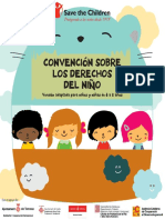 Convención Sobre los Derechos del niño (adaptada a niños  entre  6 y 8 años)