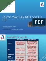 Cisco 2960 Lan Base vs Lan Lite