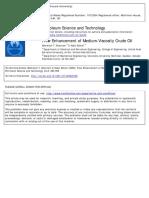 Flow Enhancement of Medium-Viscosity