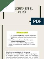 Fluorita Perú