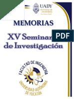 Xv Seminario de Investigacion