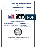 l Marketing Strategiesof Maruti Suzuki