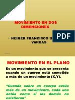 Tema 10. Movimietno en Dos Dimensiones