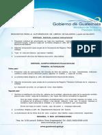 Manual de Instrucciones Contables Para Entidades Sujetas a La Vigilancia e Inspección de La Superintendencia de Bancos