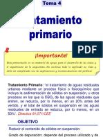 Tema 4-Tratamiento Primario