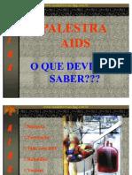 AIDS - apresentação PowerPoint