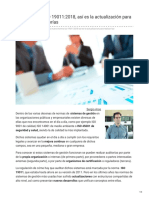Nueva Norma ISO 19011_2018 Actualización Para Realizar Las Auditorías Internal