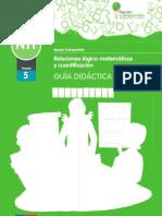 NT1 Guía Didáctica - Relaciones Lógico-matemáticas y Cuantificación