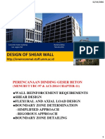 Design Shear Wall
