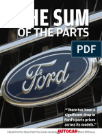 Ford the Sum of the Parts