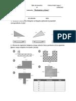Area y Perimetro Poligonos y Sector Circular