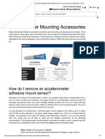 Accelerometer Mounting Accessories