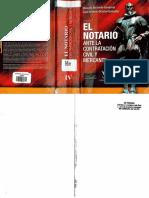 El Notario ante la Contratación Civil y Mercantil - Ricardo alvarado Sandoval y José Antonio Gracias González..pdf