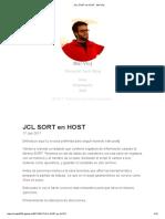 Jcl Sort en Host · Mai Vloj