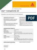 Co-ht_Sika Transparente 10