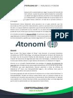 Análisis ICO - Atonomi @CriptoTrading ESP