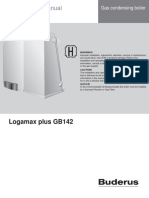 Bosch Buderus Logamax Plus GB 142 Manual
