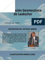 Clasificación Geomecánica de Laubscher