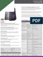 MasterCase H500 Product Sheet