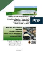 Metodologia emisiones CORINAIR