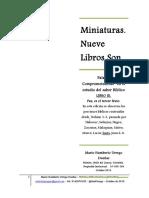 MINIATURAS - LIBRO III - PAZ
