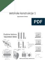 Betonske Konstrukcije 1 - Spoj
