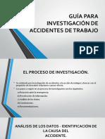 Guía Para Investigación de Accidentes de Trabajo