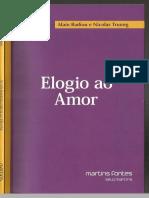 Elogio ao amor - Badiou.pdf