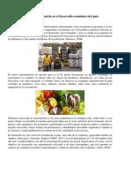 Contribución de La Agroindustria en El Desarrollo Económico Del País