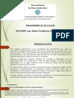 Diapositivas Transferencia de Calor 2018-I