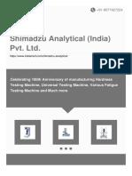 Shimadzu Analytical India Pvt Ltd