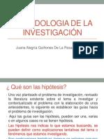 5 Calse Metodologia de La Investigacion Hipotesis y Entrevistas