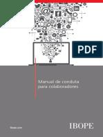 Manual Conduta Colaboradores Redes Sociais