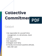 catalyst collective commitments