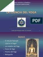 12 La Esencia Del Yoga Soporte