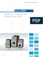 WEG Guard a Mot Ores Mpw 1046 Catalogo Espanol