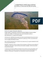 Bbc.com-Porta Do Inferno a Gigantesca Cratera Que Continua Crescendo e Revela Como a Terra Era Há 200 Mil Ano
