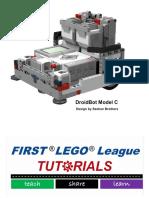 Droid Bot Model c Build Instructions