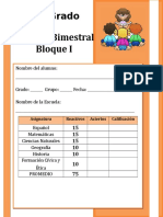 6to Grado - Bloque 1.doc