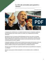 Diariodobrasil.org-Governo Dos EUA e CIA São Acionados Para Garantir a Segurança de Bolsonaro