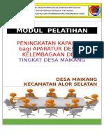 Cover Pelatihan Perangkat Desa