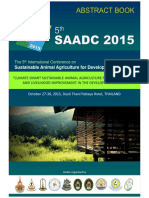 SAADC2015 Abstract Book