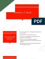 Derecho y t. Social Ley