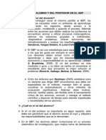 2. Papel Del Profesor y Del Alumno en Los ABP