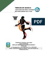 Program Kerja Ekskul Basket 2017-2018