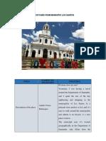 Postcard Municipio Los Santos